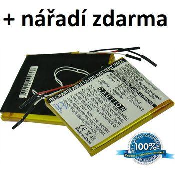 Baterie pro Apple iPhone 2G, Li-Pol 3,7V 1400mAh