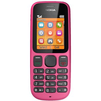 Nokia 100 růžová