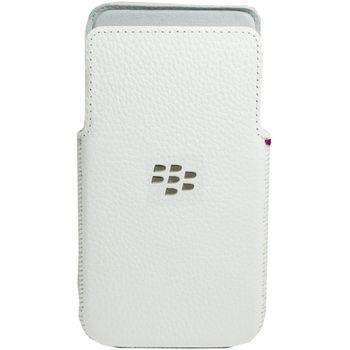 Blackberry kožené pouzdro pro BlackBerry Z30, bílé