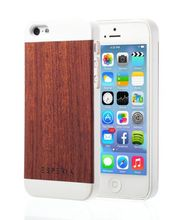 Esperia Evoque White Palisandr kryt pro iPhone 5/5S