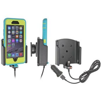 Brodit držák do auta na Apple iPhone 6/6s v pouzdře Otterbox Defender s nabíjením z cig. zap./USB