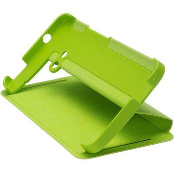 HTC flipové pouzdro se stojánkem Double Dip Flip HC V841 pro HTC One, zelené