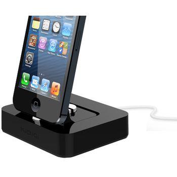 Kidigi kolébka pro telefony a tablety Apple s Lightning konektorem, černá