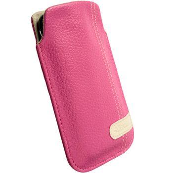 Krusell pouzdro Gaia Pouch L - iPhone 4, HTC Desire/Wildfire, Nokia 5800/C6 116x62x12mm (růžová)