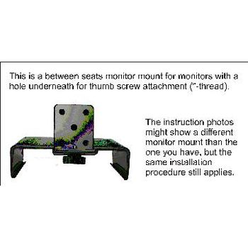Brodit držák LCD monitorů na loketní opěrku pro Subaru Forester 03-07