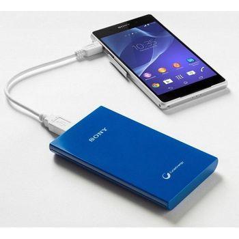 Sony záložní baterie CP-V5L, 5000mAh, modrá