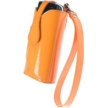 Krusell pouzdro Lush - HTC Diamond, Nokia N86, 6303, SE X8 106x54x15mm (oranžová)