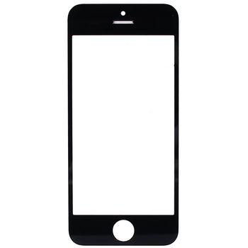 Náhradní díl sklo displeje pro Apple iPhone 5S, černé