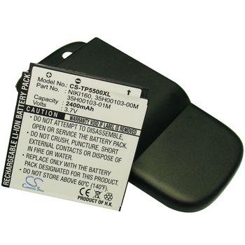 Baterie (ekv. BA-S260) pro HTC P5500 Touch Dual, rozšířená vč krytu, Li-pol 3,7V 2400mAh