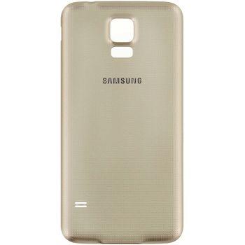 Náhradní díl na Samsung G903 Galaxy S5 Neo kryt baterie zlatý