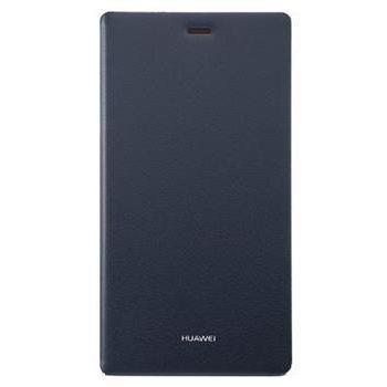 Huawei kožené ochranné pouzdro pro Huawei P8, modré, eko-balení