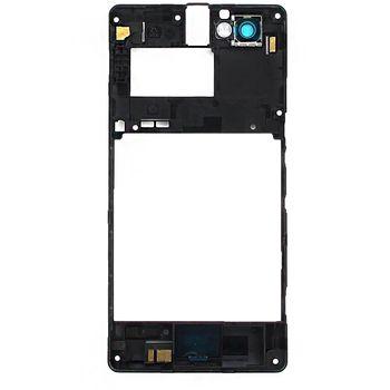 Náhradní díl střední díl těla pro Sony C1905 Xperia M, černá
