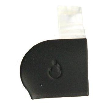 Náhradní díl krytka audio konektoru pro Sony Ericsson ST17i, černá