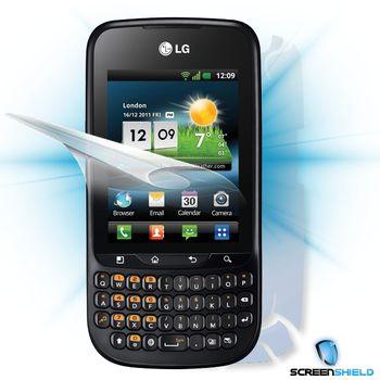 Fólie ScreenShield LG Optimus HUB E510 - celé tělo