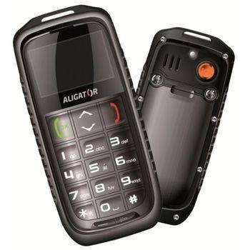 Aligator R5 outdoorový telefon - černo/šedý