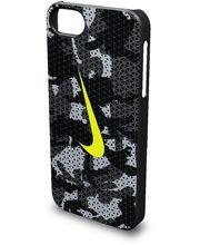 Nike Camo kryt pro iPhone 5/5S, černo šedý