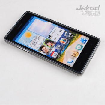 Jekod TPU silikonový kryt Huawei Ascend G700, černá