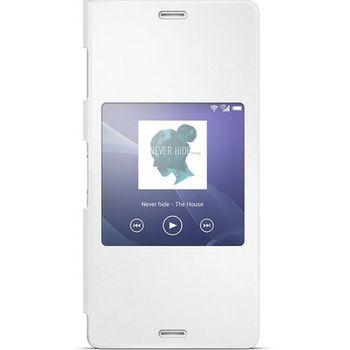 Sony flipové pouzdro Style Cover SCR24 pro Xperia Z3, bílá