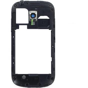 Náhradní díl střední díl těla pro Samsung i8190 Galaxy S III, černá