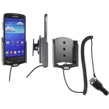 Brodit držák do auta na Samsung Galaxy S4 Active bez pouzdra, s nabíjením z cig. zapalovače