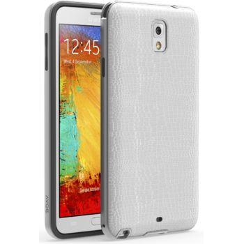 Zenus AVOC Barcellona kryt pro Samsung Galaxy Note 3, bílá