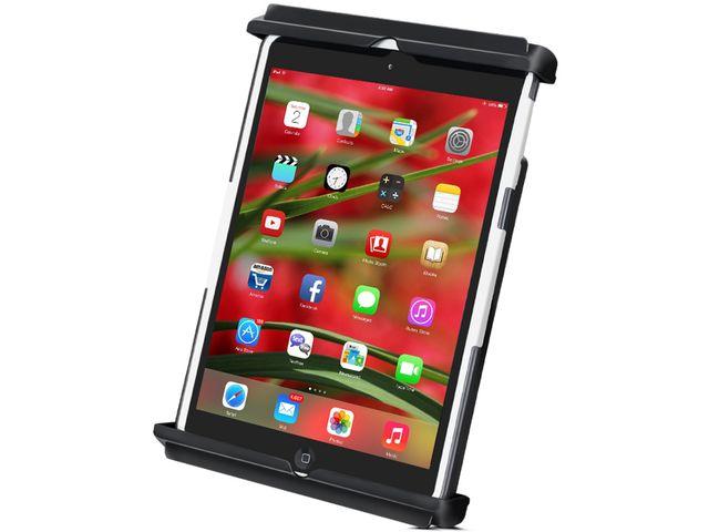 obsah balení RAM Mounts univerzální držák na iPad mini do auta do držáku na nápoje, sestava RAP-299-3-TAB12U