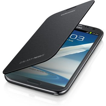 Samsung flipové pouzdro EFC-1J9FS pro Galaxy Note II, stříbrné, rozbaleno, 100% záruka