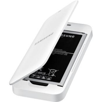 Samsung Extra battery Kit EB-KG850BW pro Galaxy Alpha, bílá