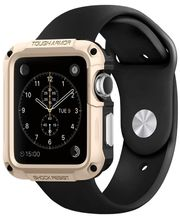 Spigen ochranný kryt pro Apple Watch 42mm Tough Armor, zlatý