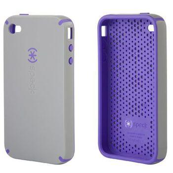 Speck pouzdro  CandyShell pro iPhone 4 - PaleMoon Gray (světle šedá/fialová)