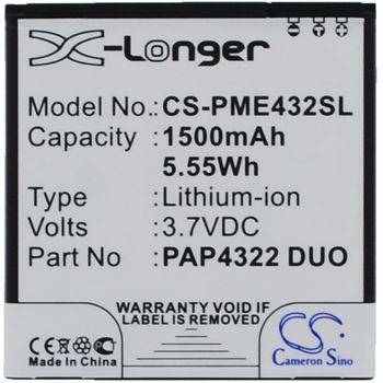 Baterie pro Prestigio MultiPhone 4322 Duo Li-ion 3,7V 1500mAh