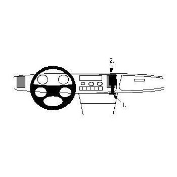Brodit ProClip montážní konzole pro Saab 900 88-93, na střed