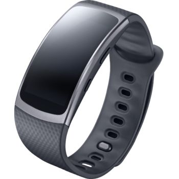 Samsung chytré hodinky Gear Fit2, šedé