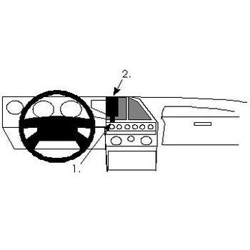Brodit ProClip montážní konzole pro Lancia Thema 91-94, na střed