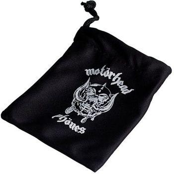 Sluchátka Motörheadphönes Overkill s mikrofonem černá + Pouzdro Burner L (černá/červená)