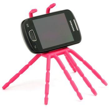 Spiderpodium - univerzální držák pro telefony (růžová)