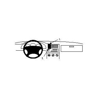 Brodit ProClip montážní konzole pro Seat Toledo 95-99, na střed
