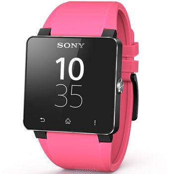 Sony náhradní řemínek pro SmartWatch SW2, ružová