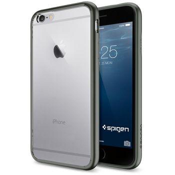 Spigen tenký kryt Ultra Hybrid pro iPhone 6, šedá