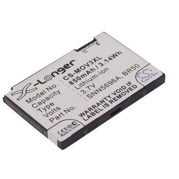 Baterie (ekv. BR50) pro Motorola Razr V3, Li-Ion 3,7V 850mAh