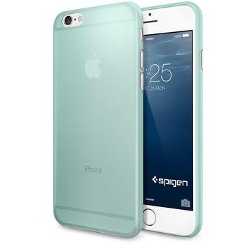 Spigen pouzdro Air Skin pro iPhone 6, zelená