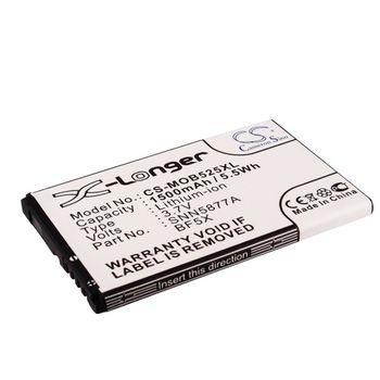 Baterie BF5X pro Motorola Defy+ MB526 / Motorola Defy, Defy mini MB525, 1500mAh