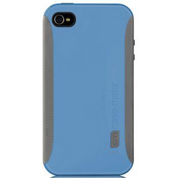 Case Mate pouzdro Pop Blue / Grey pro iPhone 4