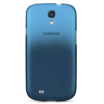 Belkin PC metalické pouzdro pro Samsung Galaxy S4, modré