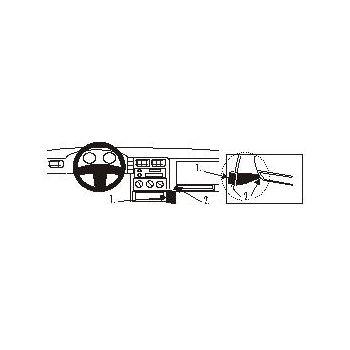 Brodit ProClip Seat Cordoba 94-99/Ibiza 93-99/Inca 93-05,Volkswagen Caddy Van/Combi 96-97/Polo 95-97