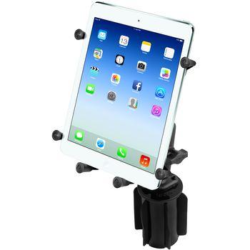 """RAM Mounts univerzální držák na tablet 9"""" až 10,1"""" do auta do držáku na nápoje, X-Grip, sestava RAP-299-3-UN9U"""