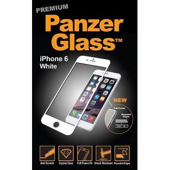 PanzerGlass ochranné Premium sklo pro iPhone 6/6S plus, bílé