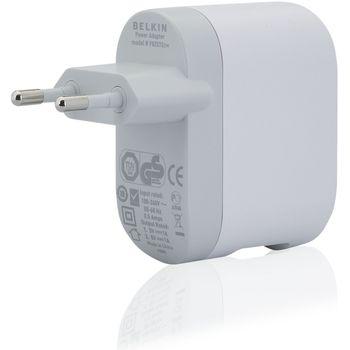Belkin USB/dual 230V nabíječka, 5V/2x1A, bílá (F8Z572cw)