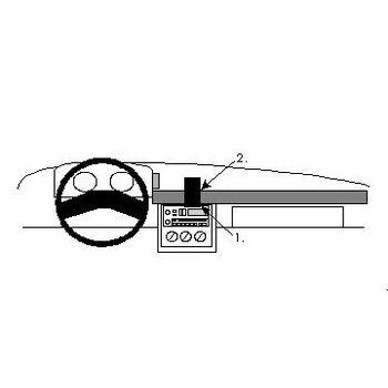 Brodit ProClip montážní konzole pro Chevrolet Beretta 85-89/Corsica 85-89, na střed