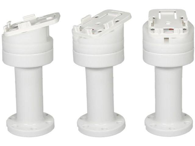 obsah balení Brodit sestava otočného montážního podstavce a MultiMove clipu, výška 141 mm, sklon 15°, bílý, PBR-216629